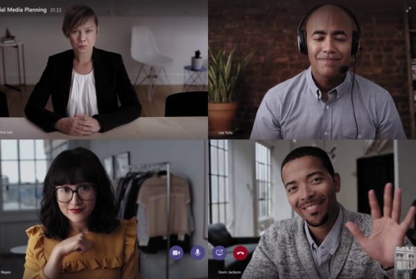 Microsoft Teams seamless collaboration video conferencing