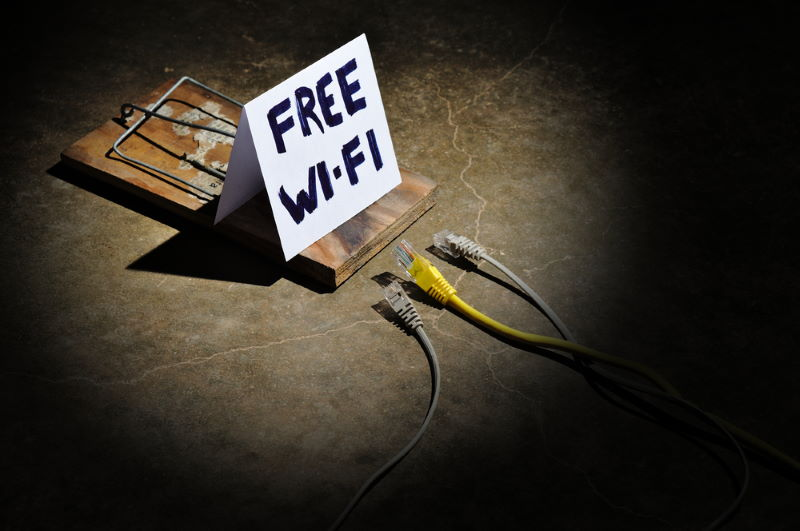 Free Wi-Fi Caution
