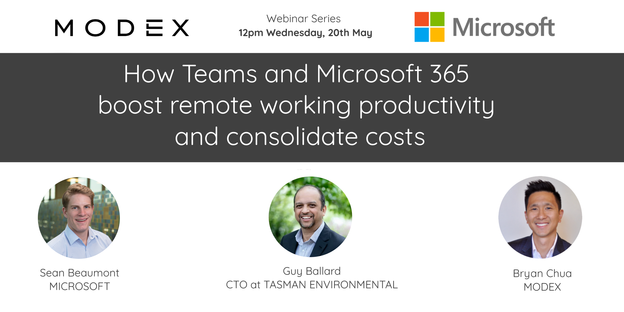 How Teams & Microsoft 365 boost remote working productivity & consolidate costs banner